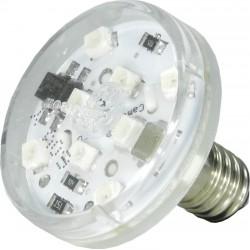 LED E10 60V Blanc Chaud